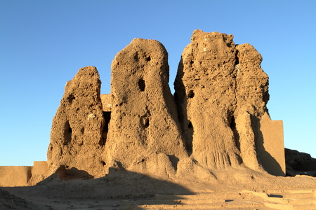 Sudan: The Deffufa Castle of Kerma in the Sudan
