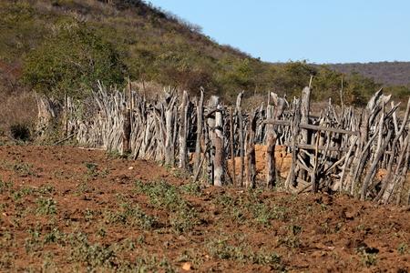 Ground fence in Brasil