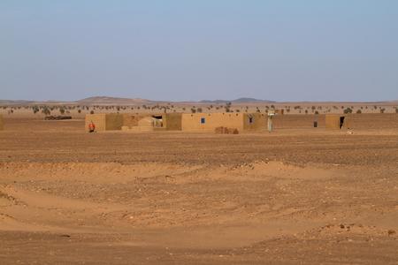 sahara: Villages in the Sahara in Sudan