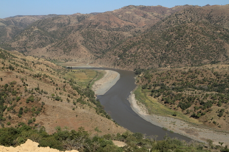 white nile: The River of the Blue Nile in Ethiopia