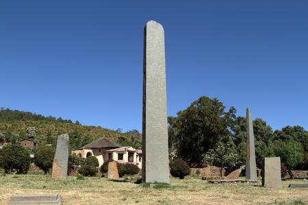 stele: The stele of Aksum in Ethiopia