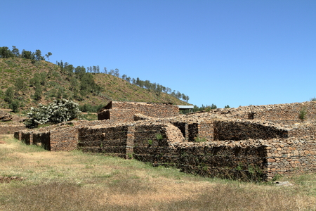 megalith: The Dungur Palace of Aksum in Ethiopia
