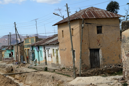 Houses and villages in Ethiopia