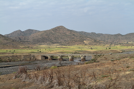 The River of the Blue Nile in Ethiopia