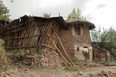 Villages and farms in Ethiopia