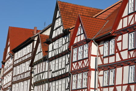 hessen: Historic half-timbered houses in Germany