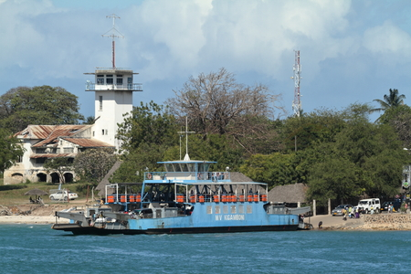 The port of Dar es Salaam in Tanzania, 27. September 2012