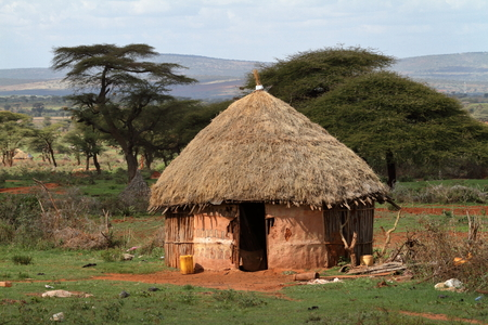 아프리카의 전통 가옥과 마을