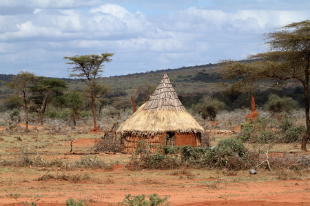 Traditional houses and villages in Africa