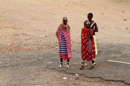 samburu: Traditional Samburu women in Kenya