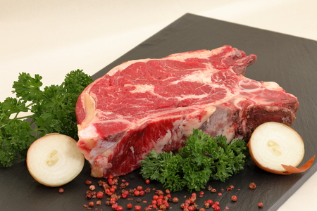 Fresh beef and steaks