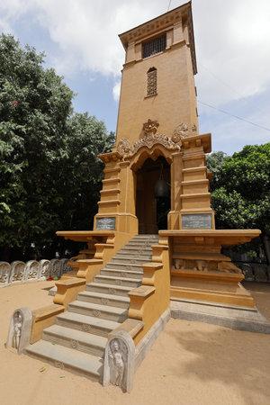 The Kelaniya Raja Maha Vihara Temple in Colombo Editorial