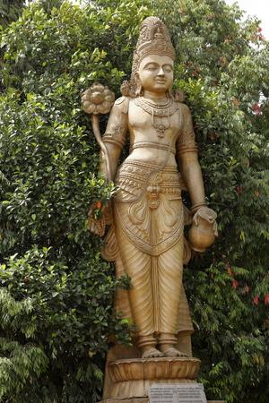 God statue in the Kelaniya Raja Maha Vihara Temple of Colombo