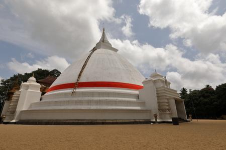 The Kelaniya Raja Maha Vihara Temple in Colombo Stock Photo