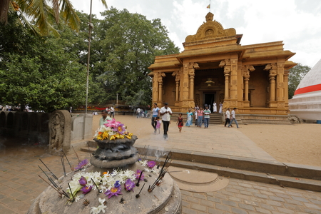 The Kelaniya Raja Maha Vihara Temple in Colombo Stock Photo - 85432443