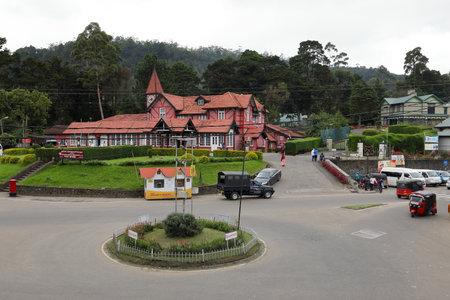 The old post office of Nuwara Eliya in Sri Lanka Editorial