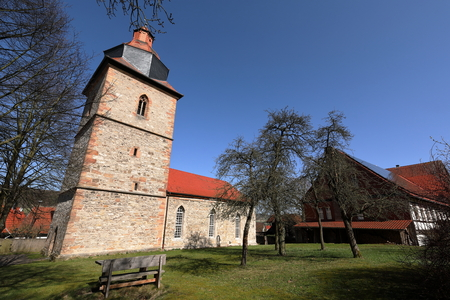 The village church of Röhrda in northern Hesse