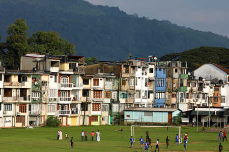 Football match in Ratnapura, 18 December 2017