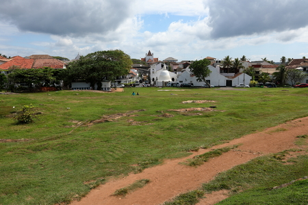 The Fortress of Galle in Sri Lanka