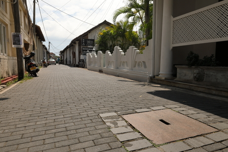 The old town of Galle in Sri Lanka
