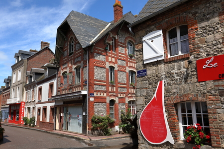The village of Veules les Roses in Normandy