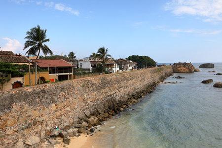 The Fort Galle in Sri Lanka