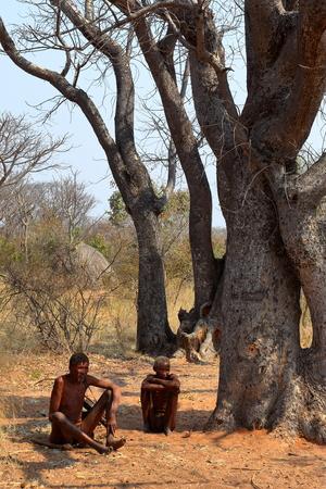 San people in Namibia