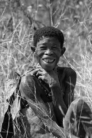 The San people in Namibia