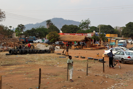 Roadside markets and street life in Malawi, September 21, 2012
