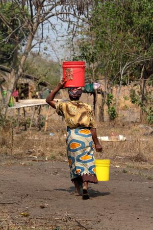 Women in the countryside in Malawi