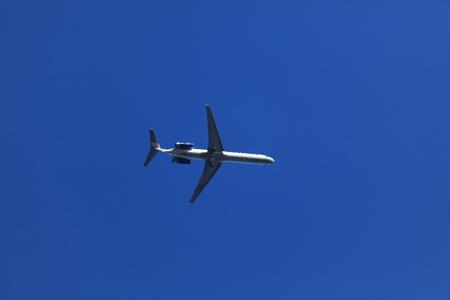 A Airplane in the Air