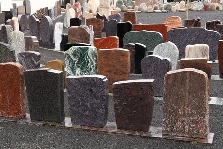 Gravestones and stonemasonry operation