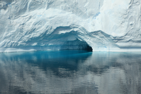 Landscape Ice and Glaciers at Antarctica