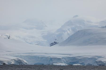 Landscape Ice and Glaciers at Antarctica