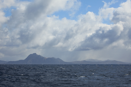 Boat trip around Cape Horn in South America