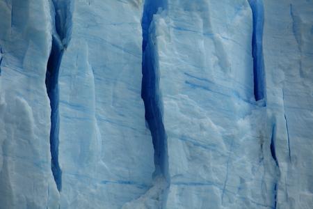 Eternal blue ice Stock Photo