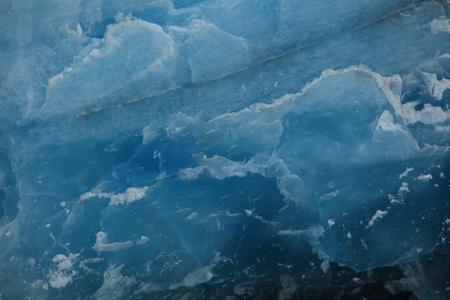 Eternal blue ice Stockfoto