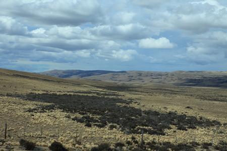 The Landscape of Patagonia 免版税图像
