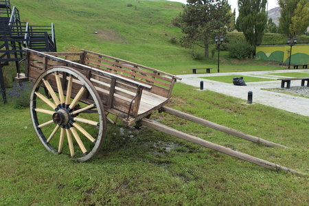 An old carriage in Argentina