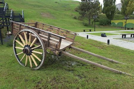 Una vecchia carrozza in Argentina