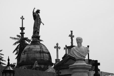 The cemetery La Recoleta in Buenos Aires
