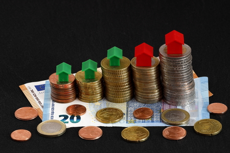 Rising house and real estate prices