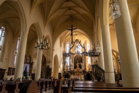 The Church of Gerolzhofen in Bavaria