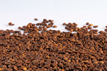 Drinking coffee beans and coffee