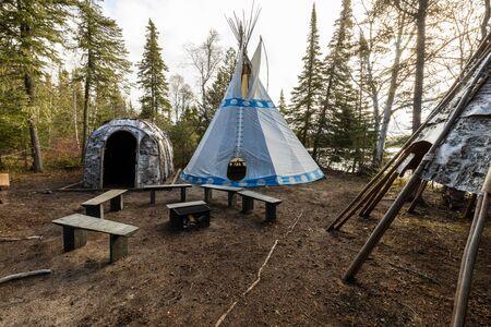 Tippi in Pukaskwa National Park Canada Reklamní fotografie