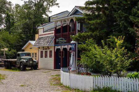 The Kootenai Brown Pioneer Village of Pincher Creek