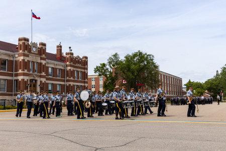 Parade of RCMP in Regina Canada, 06. June 2019