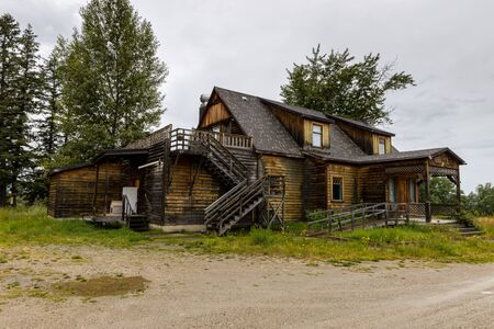 Abandoned Wooden House in Canada