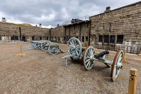 The Fortress of Halifax in Nova Scotia Canada