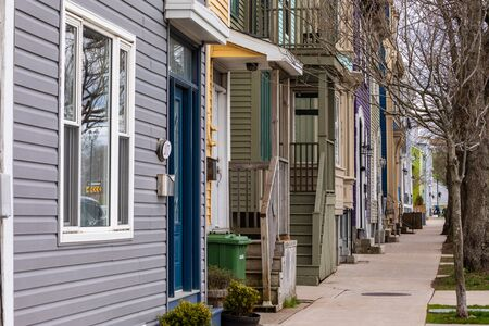 Colorful Doors and Houses of Halifax